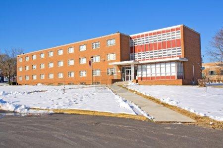 Photo pour Résidence pour femmes Newman Hall sur le campus de l'Université Virginia Union à Richmond, Virginie, l'un des collèges et universités historiquement noirs - image libre de droit