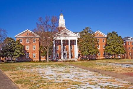 Photo pour Virginia Hall sur le campus de l'Université d'État de Virginie près de Petersburg, Virginie, l'un des publics, Historiquement noir Collèges et Universités (HBCU) avec - image libre de droit