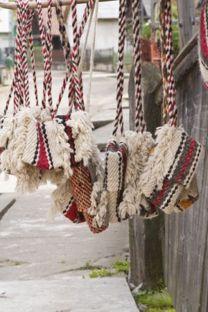 Traditional romanian bags