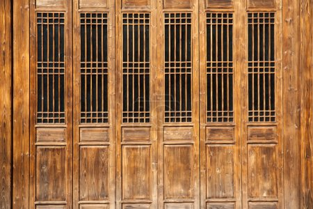 Chinese old style door