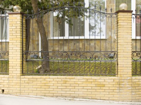 Fence of a house