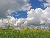 Bouře obloha
