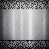 Metal background (silver collection)