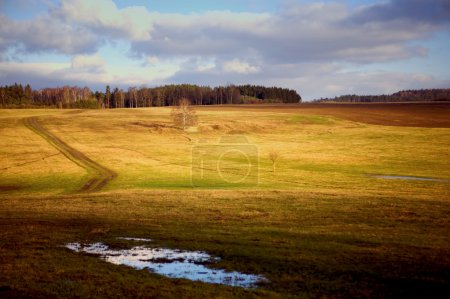 Photo for Country landscape in autumn - Royalty Free Image