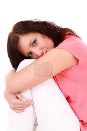 Teenage girl in love