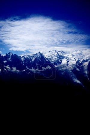 Photo for Swiss Alp mountains, near Chamonix, France - Royalty Free Image