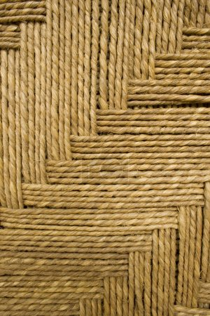 Grass rope weave background