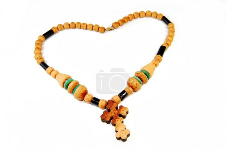Photo for Wooden rosary - Royalty Free Image