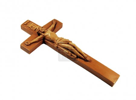 Photo for Wooden crucifix - Royalty Free Image