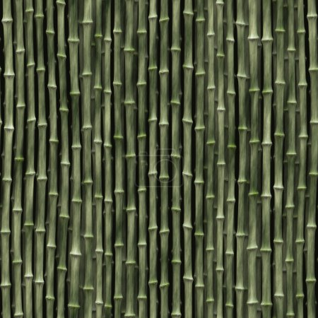 Photo for Seamless pattern of a bamboo background - Royalty Free Image