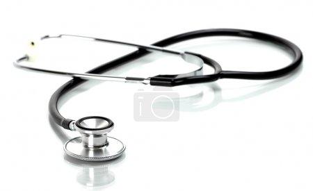 Photo for Stethoscope isolated on white background - Royalty Free Image