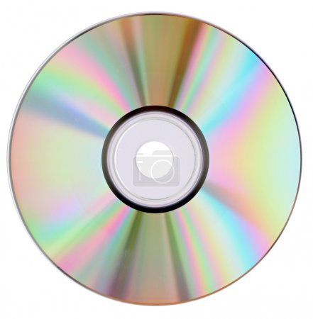 Cd dvd isolated