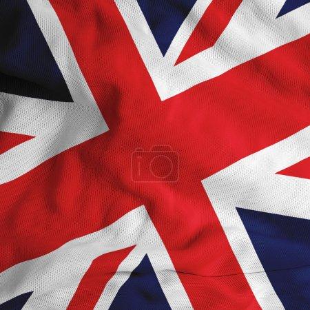 Photo pour Drapeau britannique - image libre de droit
