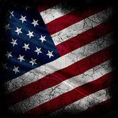 "Постер, картина, фотообои ""Grunge United States of America Flag"""
