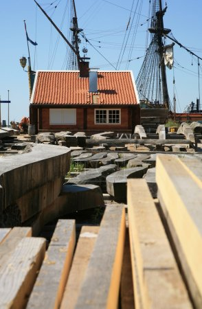 Batavia Lelystad Netherlands - shipyard