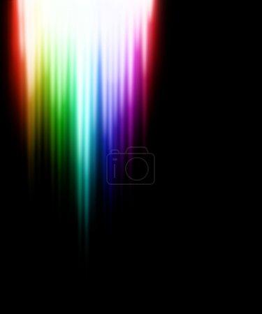 Color light effect