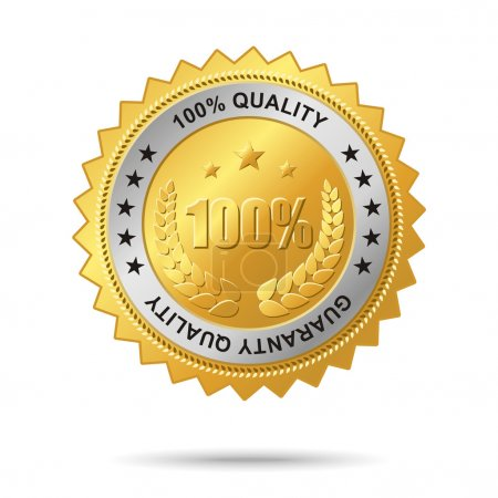 Guaranty quality golden label