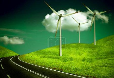 Wind generators, ecology