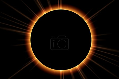 Photo for Total Solar Eclipse - Royalty Free Image
