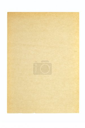 Photo for Old Paper, photo on the white background - Royalty Free Image