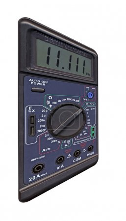 Digital multimeter with switch
