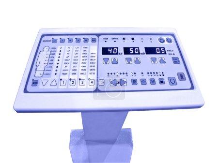 Color digital control panel,anatomy test