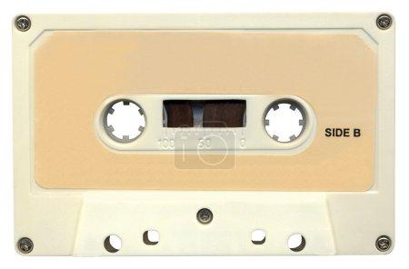 bande rétro cassette audio magnétique