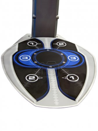 Gyms sport equipment for foot, numbers
