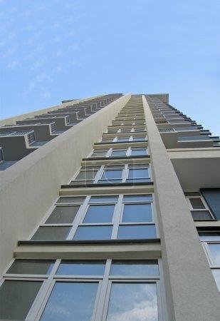 New urban modern yellow grey building