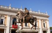 Marcus aurelius na capitol hill v Římě