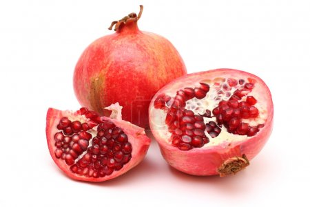 Fresh appetizing pomegranates