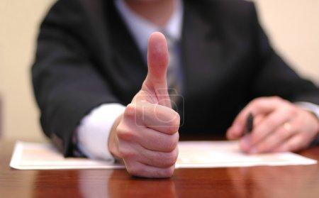 Photo pour Concept de réussite commerciale - image libre de droit