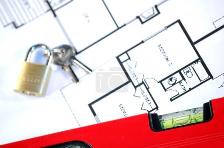 House insurance and security concept...