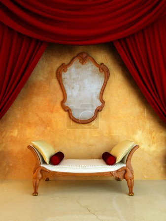 Photo for Classic style interior - Royalty Free Image