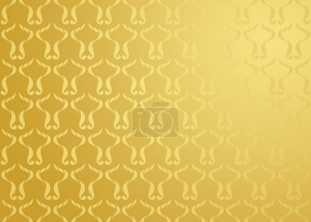 Damask background gold