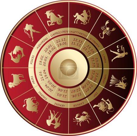 Illustration for Horoscope - Royalty Free Image