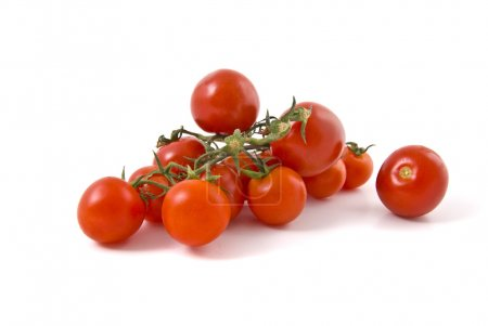 Photo for Studio shot of cherry tomatoes - Royalty Free Image