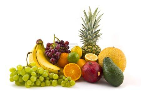 Foto de Pila de frutas, variedad de frutas - Imagen libre de derechos