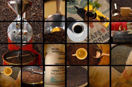 Photo pour Différentes façons de boire du café - image libre de droit
