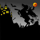Rider and halloween