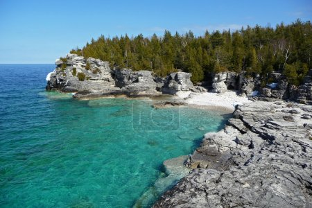 Indian head cove in early