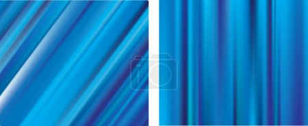 Blue lines gradient mesh blur background