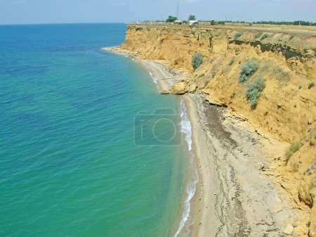 Pictorial coast of Black sea