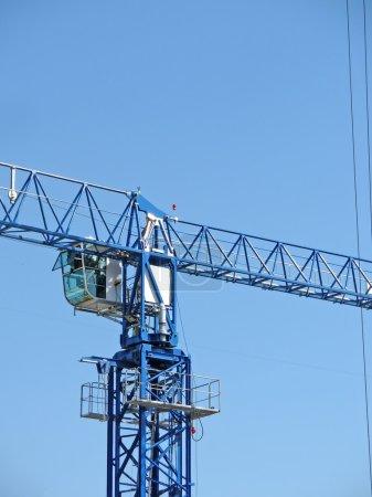 Big industrial functional metal crane