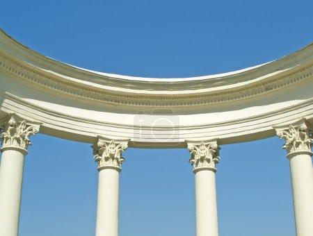 White ancient rotunda