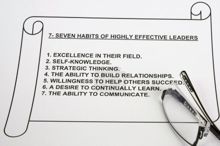 Seven habits of highly effective leaders