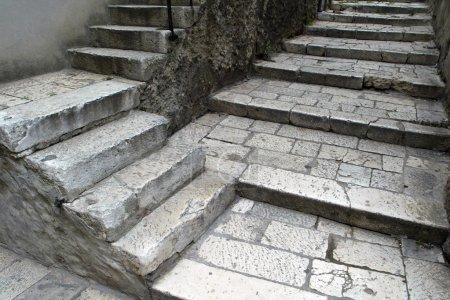 Photo for Stone stairs in Šibenik, Croatia - Royalty Free Image