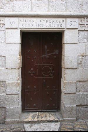 Via Dolorosa, 5ème Stations de la Croix. Jérusalem