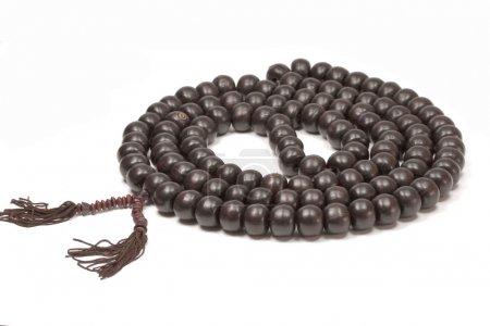 Photo pour Perles de prière bouddhistes - image libre de droit