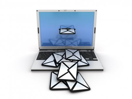 Email laptop